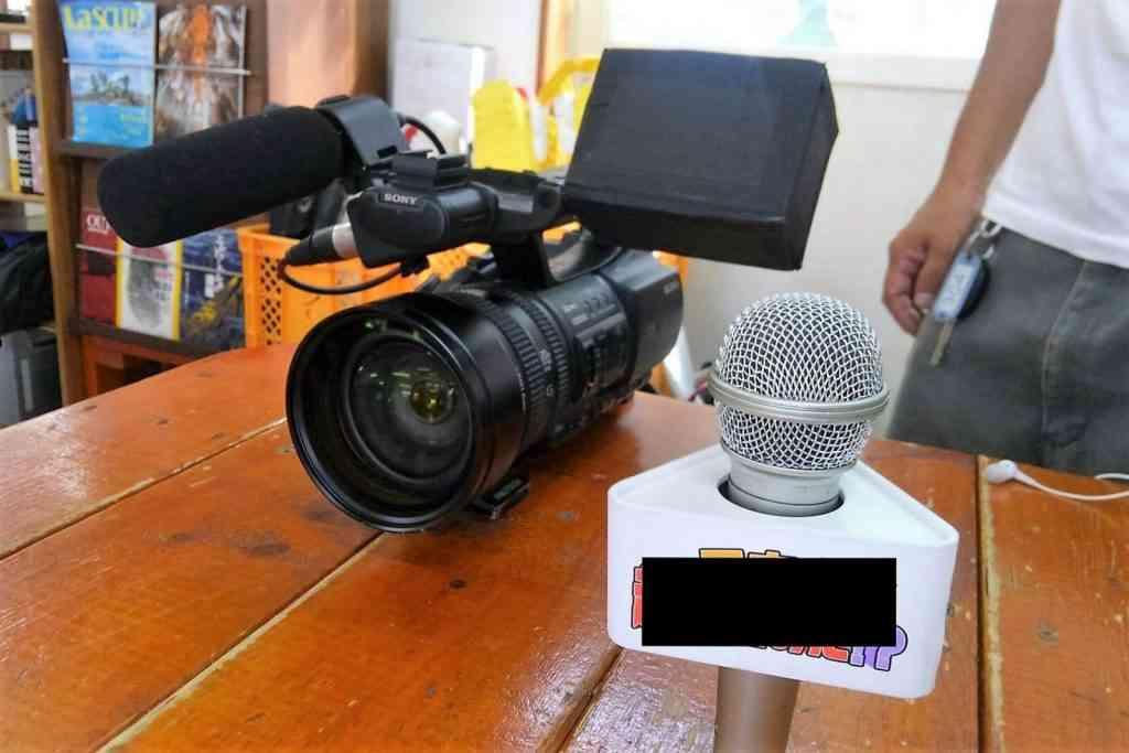 TVカメラ&マイク